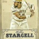 2013 Topps Calling Card Willie Stargell No. CC-6