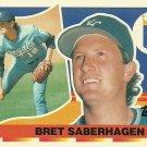 1990 Topps Big Bret Saberhagen No. 21