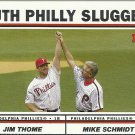 2004 Topps Jim Thome, Mike Schmidt No. 695