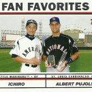 2004 Topps Ichiro Suzuki, Albert Pujols No. 694