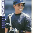 1997 Score Andres Galarraga No. 19
