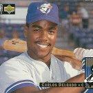 1994 Collector's Choice Carlos Delgado No. 4 RC