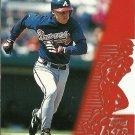 1996 Topps Laser Chipper Jones No. 45