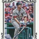 2013 Topps Gypsy Queen Framed Parallel David Freese No. 34