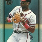 1995 Topps Embossed Fred McGriff No. 127