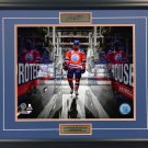 Walking on the Ice, Connor McDavid Framed Collector Photo - 16x20
