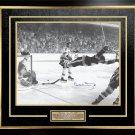 """Bobby Orr """"""""The Goal"""""""" Signed 16x20 Framed Photo - Boston Bruins"""