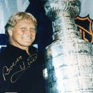 Signed Bobby Hull 8x10 Stanley Cup Photo, Chicago Blackhawks