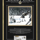 "Bobby Orr """"The Goal"""" Signed 11x14 Limited Edition 44/44 - Boston Bruins - Framed"