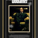 Al Pacino The Godfather, Facsimile Autograph Ltd Ed 1 of 72 - Laser Etched Glass