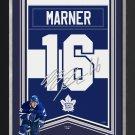 Mitch Framed Arena Banner Ltd Ed 1/116 - Toronto Maple Leafs, Facsimile Signed