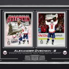 Ovechkin Collage, Stanley Cup Champ & Conn Smythe Winner - Ltd Ed of 88, Collage