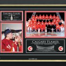 Theoren Fleury & the Calgary Flames, Limited Edition 89/89 - Stanley Cup Champs