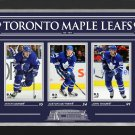 Auston Matthews, Mitch Marner, John Tavares Ltd Ed 34/99 - TO Maple Leaf Stars