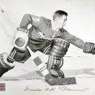 Signed Emile The Cat Francis Photo 8x10 - Chicago Blackhawks, New York Rangers