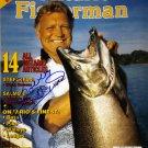 Bobby Hull Signed 8x10 Ontario Fisherman, Chicago Blackhawks