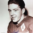 Autographed Marcel Pronovost 8x10 Photo - Detroit Red Wings, Toronto Maple Leafs