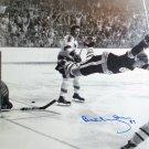 "Bobby Orr """"The Goal"""" Autographed 7.5x11 Photo - Boston Bruins"