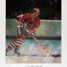 Signed Bobby Hull Lithograph Ltd Ed /90, Chicago Blackhawks