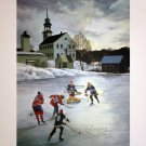 Signed Richard, Beliveau, Bower, Ullman, Stanley & Hull - Saturday Morning Litho