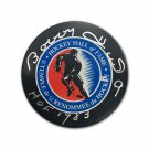 Bobby Hull Signed Hockey Hall of Fame Puck - Chicago Blackhawks, Winnipeg Jets