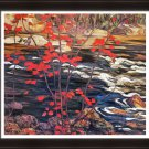 "A.Y. Jackson Limited Edition Group of Seven """"Red Maple"""" - Framed Art Print"
