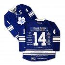 Dave Keon Career Jersey - Autographed - LTD ED 14 - Toronto Maple Leafs