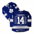 Dave Keon Career Jersey #1 of 14 - Autographed - LTD ED 14 - Toronto Maple Leafs
