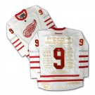 Gordie Howe Gold Edition Career Jersey Ltd Ed 1 of 9 - Autographed Red Wings