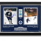 Darryl Sittler Signed 10-Point Game NHL Record, Ltd Ed 27/27 - TO Maple Leafs