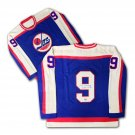 Bobby Hull Autographed Blue Wool Winnipeg Jets Jersey