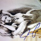 """Titanic Jack's """"""""Drawing"""""""" Facsimile Signed by James Cameron"""