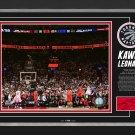 "Kawhi Leonard Toronto Raptors """"The Shot"""" Ltd Ed 1/122 - Facsimile Signed"