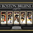 Boston Bruins Legends Orr, Esposito Cheevers, Neely, Bourque - Limited Edition