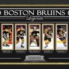 Orr, Esposito Cheevers, Neely, Bourque, Ltd Ed 7 of 199 - Boston Bruins Legends
