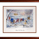 When We Were Six, Bower & Cheevers, Toronto, Boston, Framed