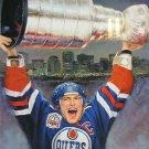 Mark Messier Lithograph - Edmonton Oilers, Ltd Ed of 1111