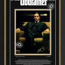 Al Pacino The Godfather, Facsimile Autograph Ltd Ed - Laser Etched Glass