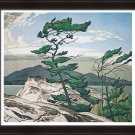 """A.J. Casson Limited Edition Group of Seven """"""""White Pine"""""""" - Framed Art Print"""