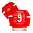 Gordie Howe Vintage Edition Wool Career Jersey Ltd Ed 9 of 9 - Signed Red Wings