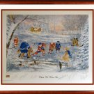 """Signed """"""""When We Were Six"""""""" #0/600 - Kelly, Howell, Bower, Hull, Lafleur, Esposito"""