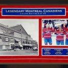 Maurice Richard, Jean Beliveau, Guy Lafleur Signed #4/23 - Habs 8x10 Photograph
