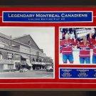 Maurice Richard, Jean Beliveau, Guy Lafleur Signed #9/23 - Habs 8x10 Photograph