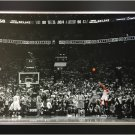 "Kawhi Leonard """"The Launch"""" Framed Canvas - Toronto Raptors Game Winning Shot"