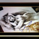 "Titanic """"Jack's Drawing"""", Facsimile Signed by James Cameron - Framed Photo 20x24"