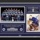 Johnny Bower Signed 1967 Stanley Cup (Blue), Ltd Ed /67 - Toronto Maple Leafs