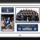 Johnny Bower Signed 1967 Stanley Cup (White), Ltd Ed 67/67 - Toronto Maple Leafs