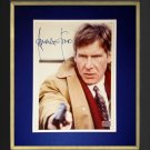 Framed 8x10 Photograph The Fugitive, Signed by Harrison Ford