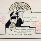 Darryl Smith, Mike Pinball Clemons Autographed Vintage Sign - Toronto Argonauts
