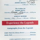 Bobby Hull, Eddie Shack and Johnny Bower Signed Vintage Sign - Chicago, Toronto